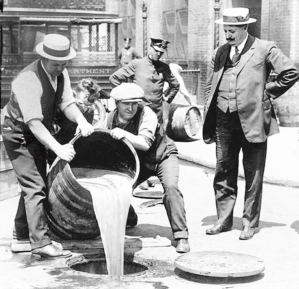 prohibicja alkoholowa w USA